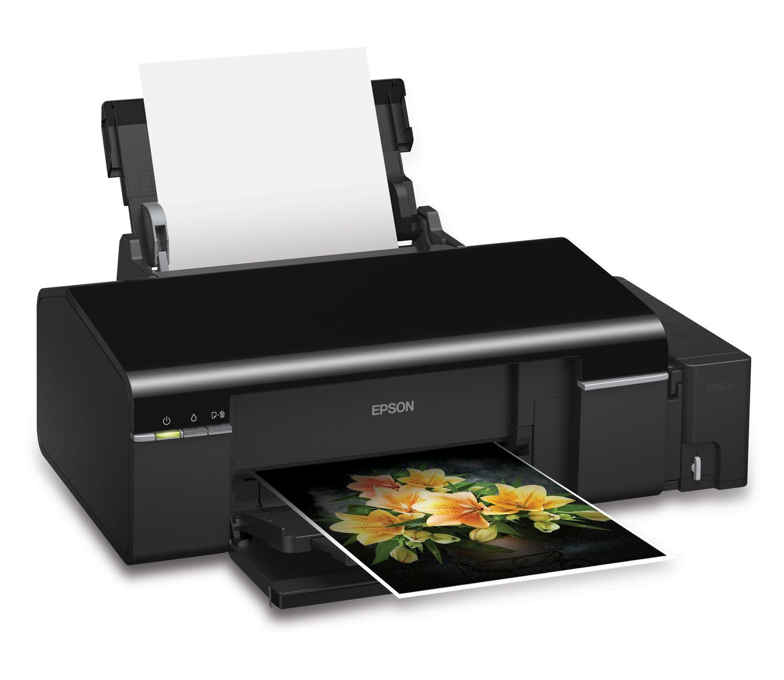 Photo transfer inkjet printer